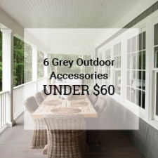 Grey Outdoor Accessories