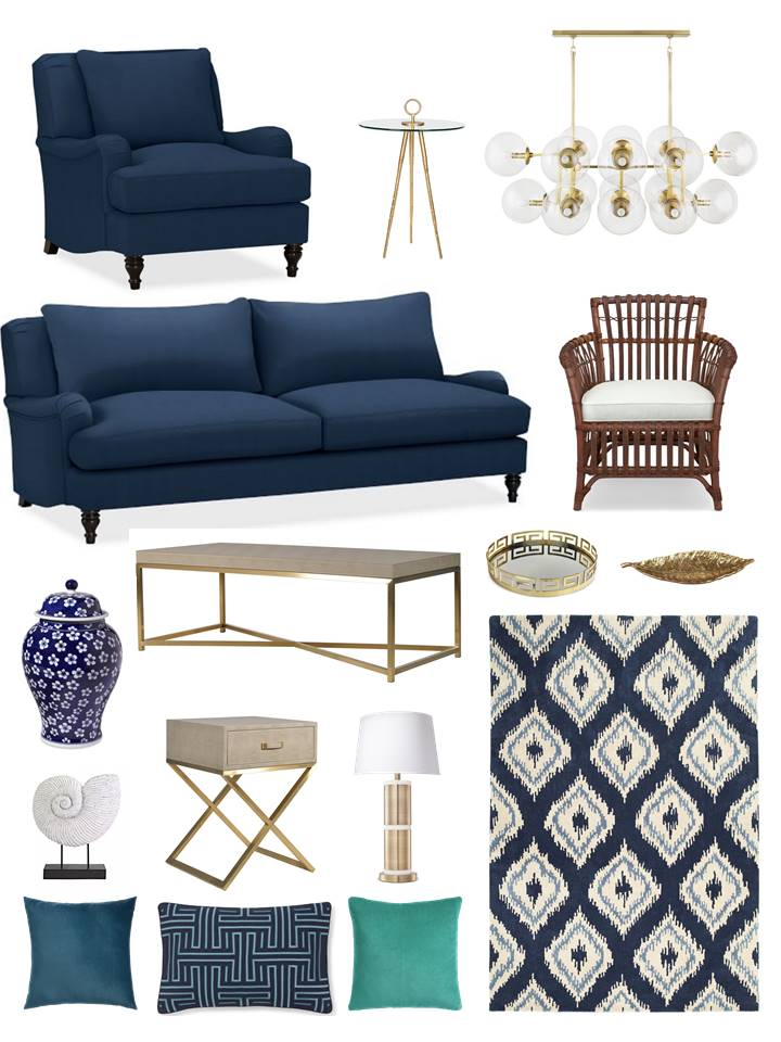 williams-sonoma-traditional-navy-living-room-with-a-twist