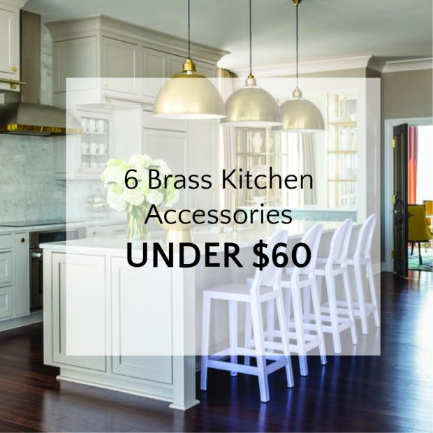 Thumbnail Brass Kitchen Accessories