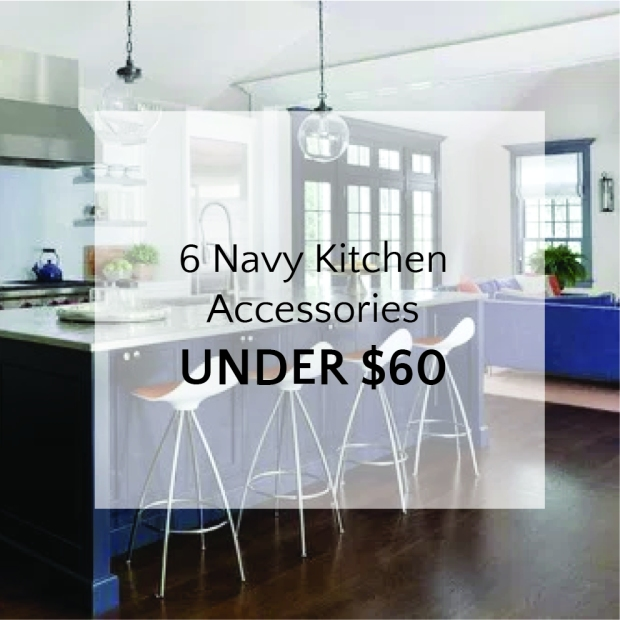 Thumbnail Navy Kitchen Accessories