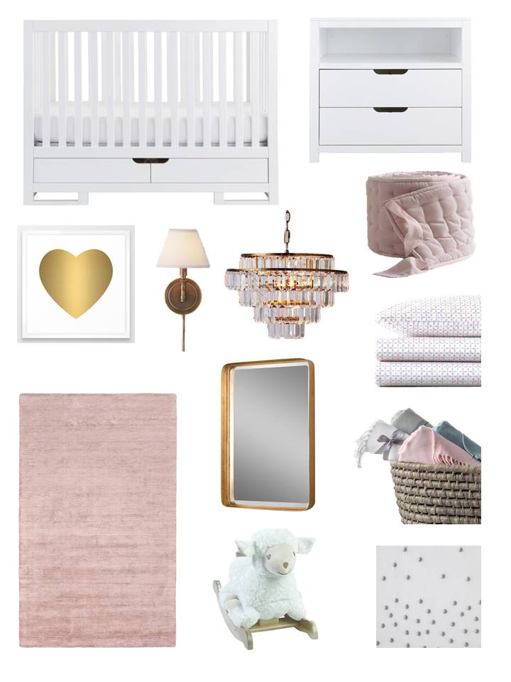 R_H Pink and Gold Nursery