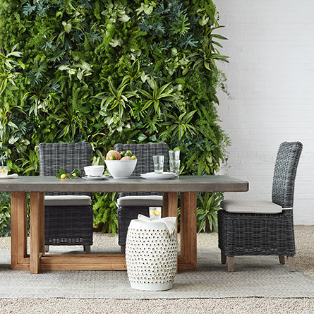 Arhaus Grey Outdoor Dining