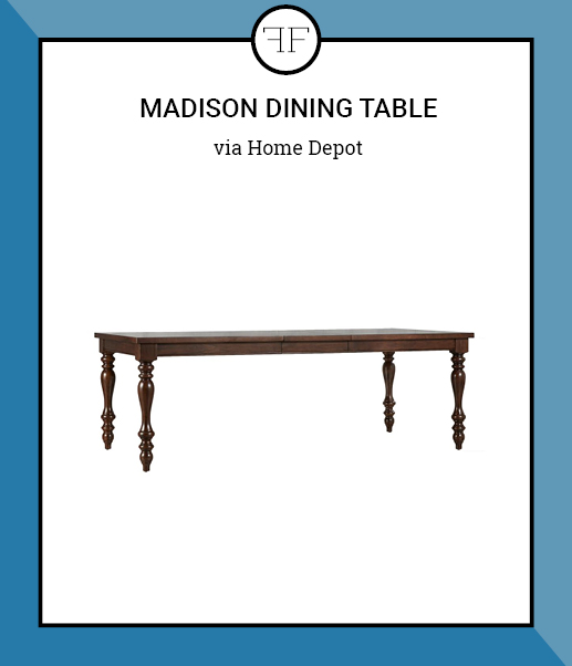 Friday Furniture- Madison Dining Table