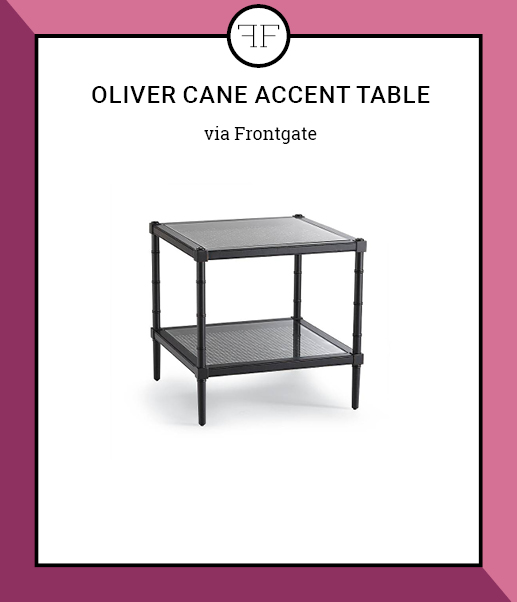 Friday Furniture- OLIVER CANE ACCENT TABLE