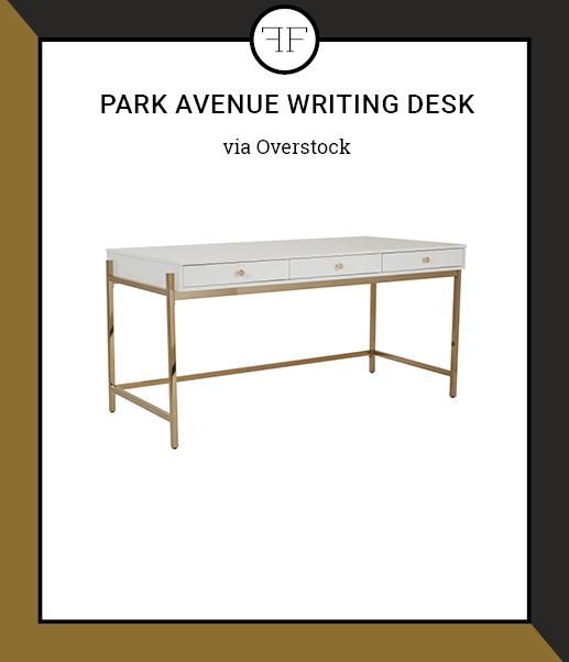 Friday Furniture- Park Avenue Writing Desk
