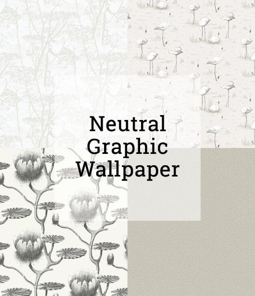 Neutral Grapic Wallpaper