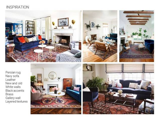 Living Room Mood Board Inspiration