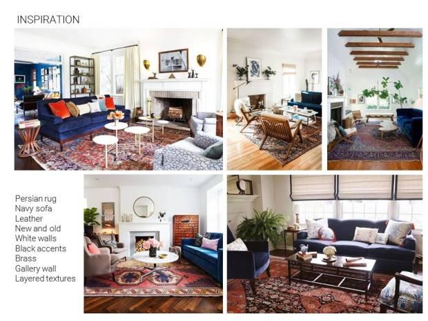 Living Room Mood Board Inspiration